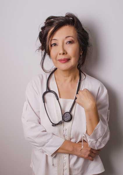 Sou médica Lilian Kiyomura Arakawa