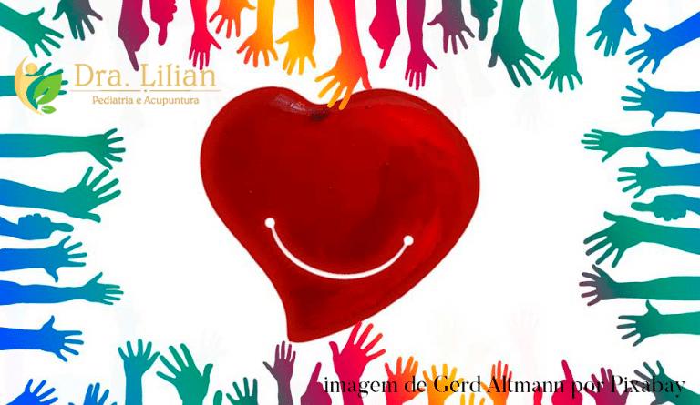 coração e alegria