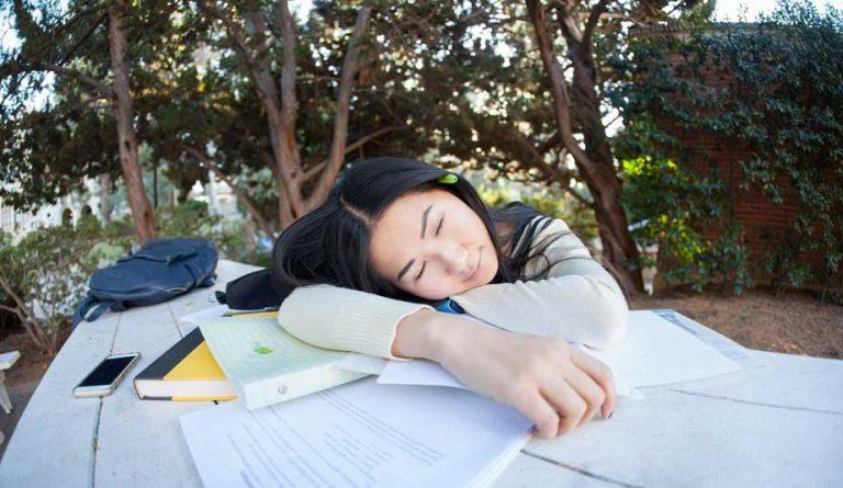 cansaço estudante